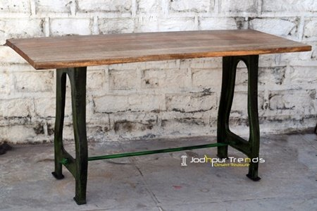 Cast Iron Foldable Bar Table Furniture Design