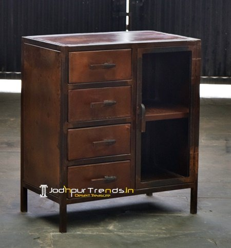Rust Finish Factory Inspire Hotel Cabinet