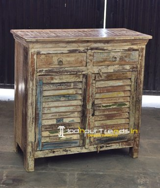 Blue City Hand Crafted Reclaimed Cabinet Furniture