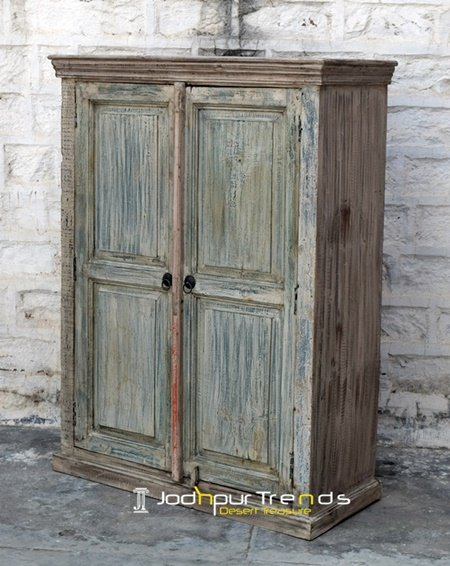 Old Window Panel Design Distress Cabinet Furniture