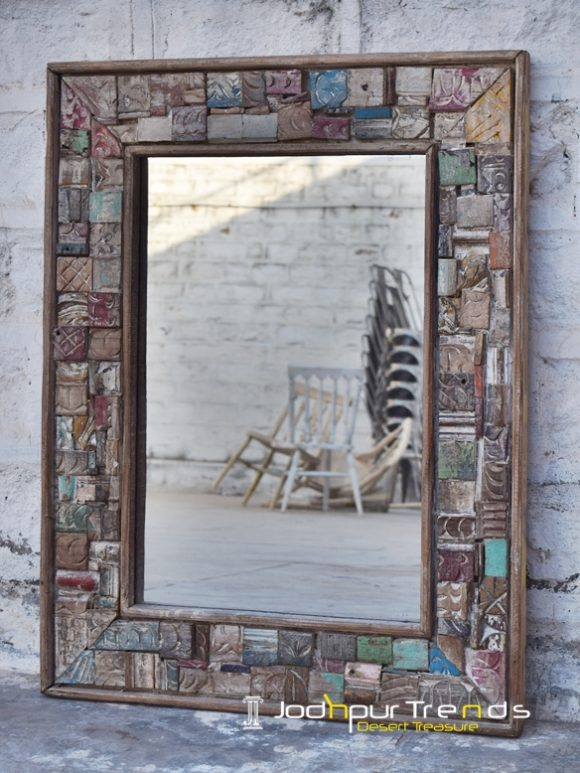 reclaimed mirror frame designs