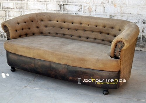 Tufted Design Canvas Supplier Choice Sofa Design