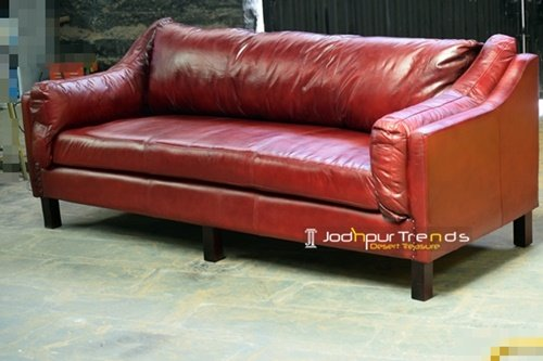 Buffalo Genuine Leather Manufacture Choice Sofa