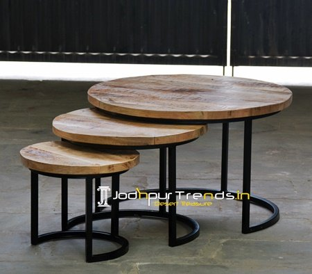 Set of Three Wholesale Nest of Tables Set