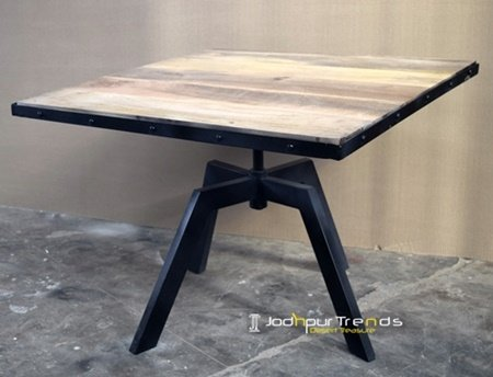 Solid Metal Restaurant Latest Coffee Table Design