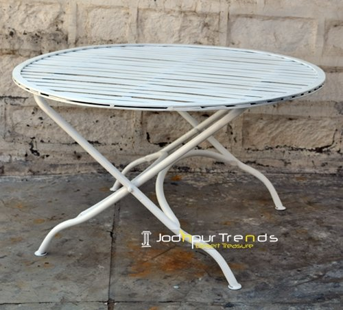 Metal Heavy Commercial Center Folding Table Furniture