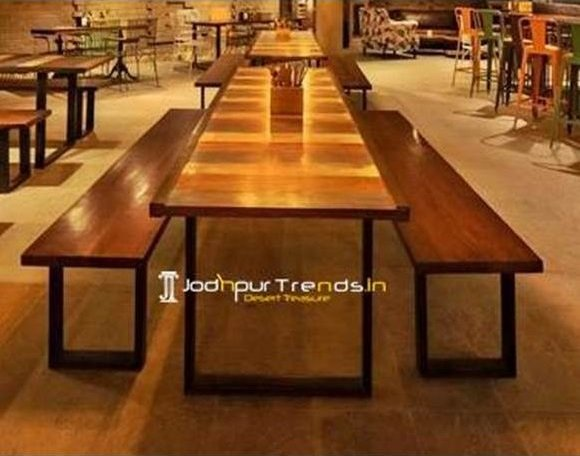 restaurant furniture design 13 Outdoor Table Bench Set Bench Table Set Restaurant Bar Furniture