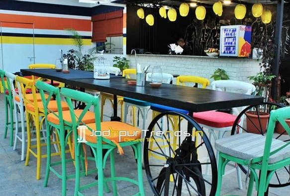 restaurant furniture design 15  Adjustable Bar Table Outdoor Bar Furniture Pub Furniture