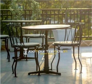 restaurant furniture design 7 Hotel Garden Table Set Outdoor Furniture India