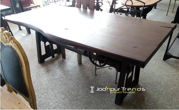 restaurant furniture design 8 Live Edge Acacia Table Live Furniture Design