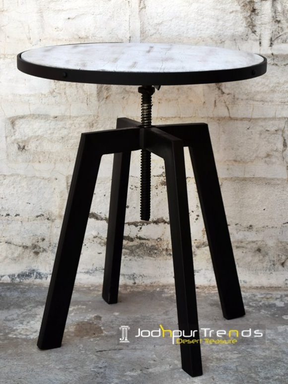 Heavy Metal Adjustable Center Table Furniture Design