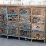 Indian Antique Design Large Drawer Cabinet