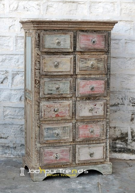 Reclaimed Wood Cabinet from Jodhpur