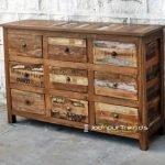 Old Wood Drawer Resort Furniture Design