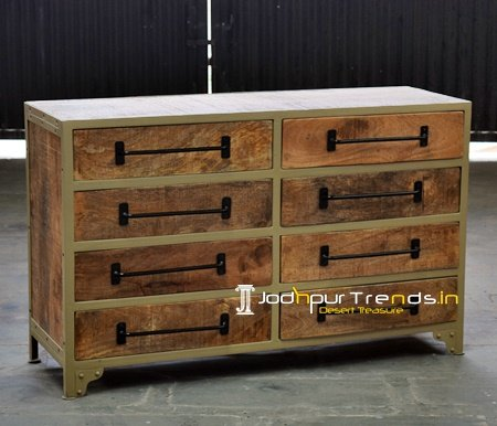 Contemporary Industrial Cabinet Furniture