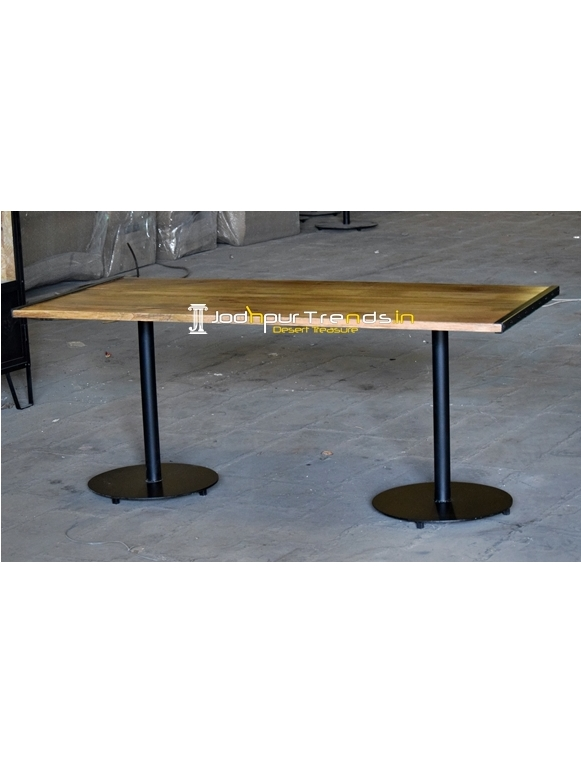 Duel Base Commercial Grade Folding Dining Table