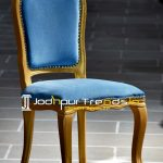 French Design Inspire Hand Carved Chair