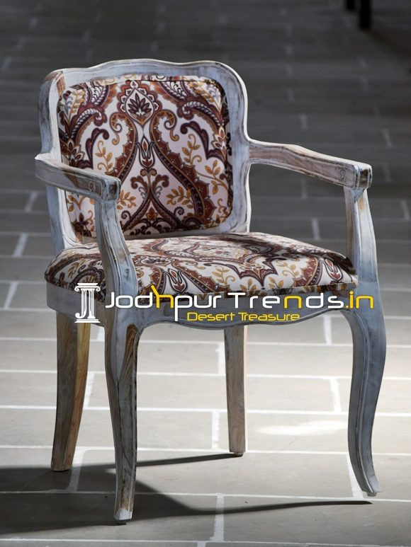 Hand Crafted Curved Crafted Accent Chair