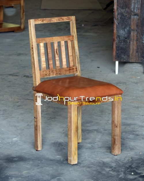 Ruff Rugged Industrial Style Solid Wood Chair