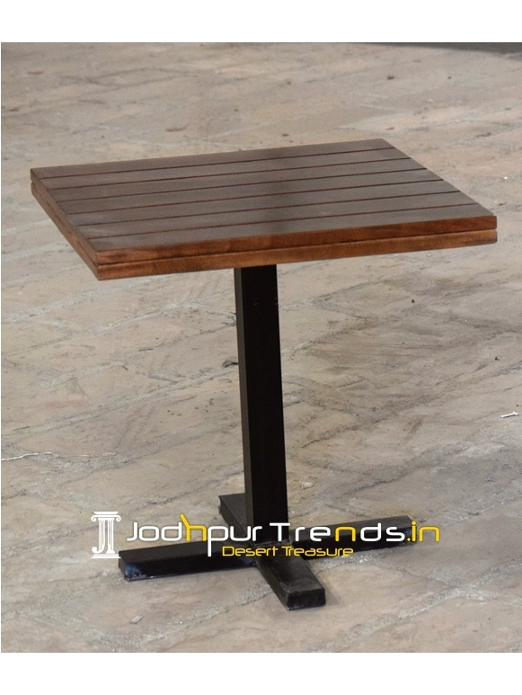 Single Base Light Weight Folding Cafeteria Table
