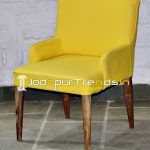 Yellow Upholstered Modern Inspire Relax Hospitality Chair