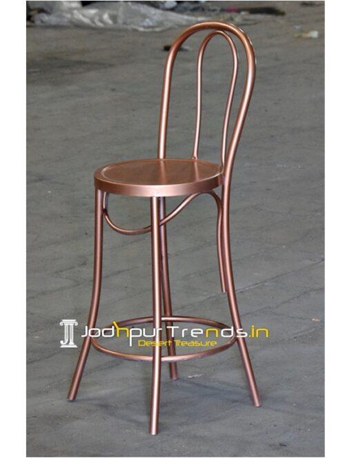 metal finish bar pub brewery chair