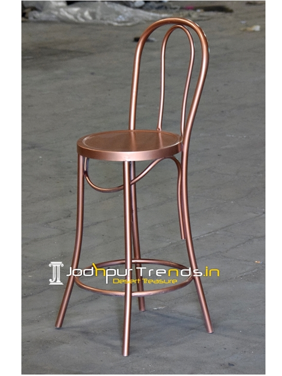 metal finish bar pub brewery chair