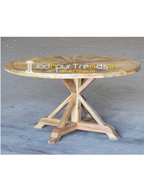 Mango Wood Folding Table