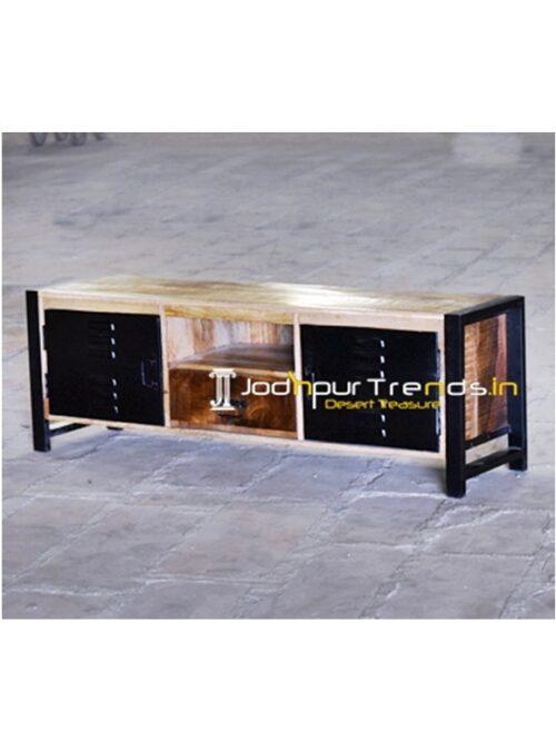 Metal Industrial Import Design TV Unit