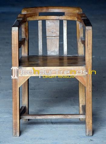 Old Teak Wood One of Kind Gandhi Chair