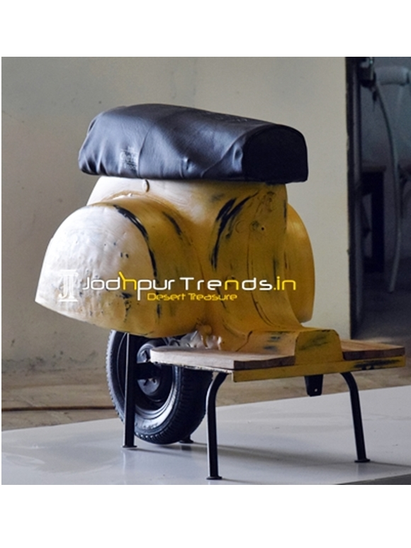Unique Distress Old Scooter Seating